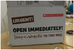 wimpy kid box