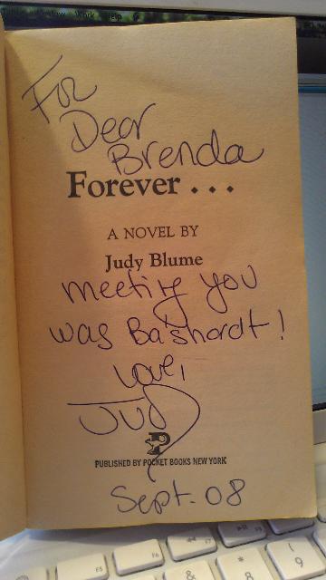 Brenda Ferber_photo of Forever title pg (