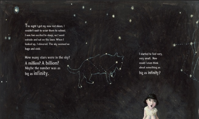 Illus by Gabi Swiatkowska from Infinity and Me by Kate Hosford