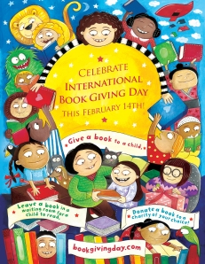 international book giving day poster by priya kuriyan