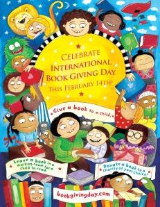 international book giving day poster by priya kuriyan