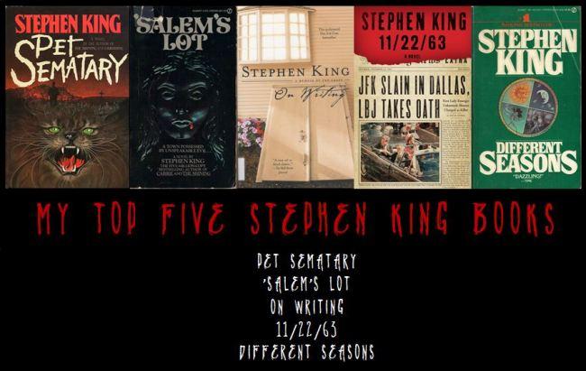 Top Five Stephen King 2