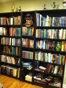 Ms. Shurtliff's bookshelves