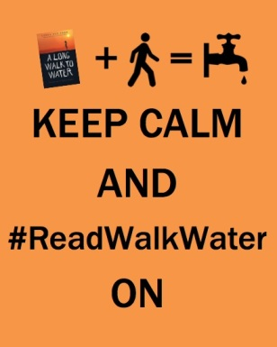 keep calm and readwalkwater on