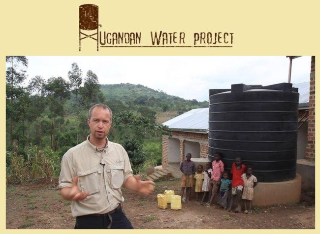 ugandan water project plus harrington