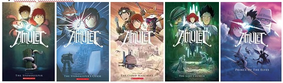 amulet series 1 to 5