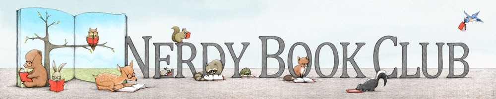 Nerdy Book Club banner