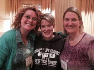 Kristin M., Beth, and Niki