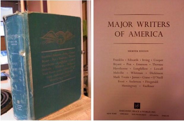 major writers of america