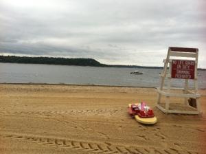 the beach where I swim now