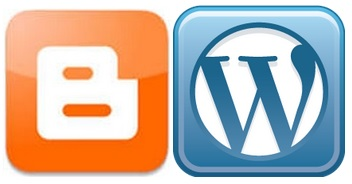 blogger and wordpress