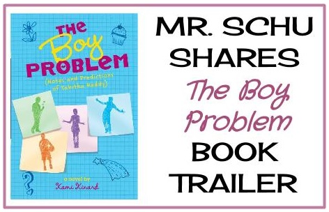 Click on the image above to visit Mr. Schu's post – the book trailer + book giveaway!
