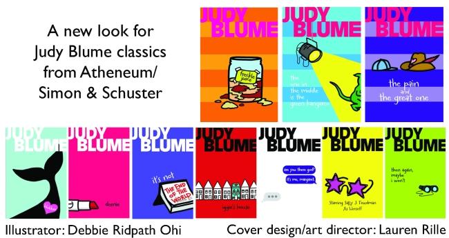 AllRevampedJudyBlumeBooks