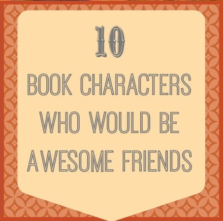 Image result for Book Characters as Friends