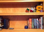 Sam's bookshelf