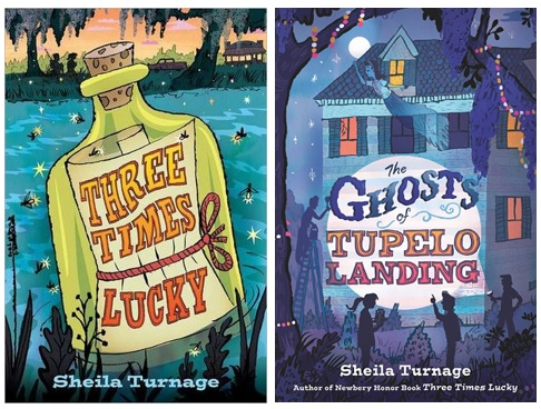 The books we have loved together by cindy and bryson minnich nerdy three times lucky the ghosts of tupelo landing fandeluxe