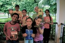 GatheringReaders at the Jurong West Public Library, Singapore