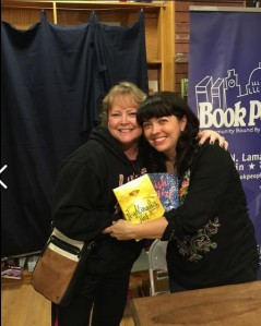 Nikki Loftin's book, WISH GIRL (2015), was launched with a book party at Book People in Austin, Texas, on February 28th. She is also the author of NIGHTINGALE'S NEST (2014) and THE SINISTER SWEETNESS OF SPLENDID ACADEMY (2012).