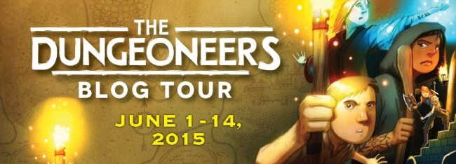 Dungeoneers Blog Tour Banner