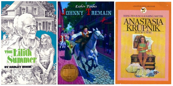 lillith summer johnny tremain anastasia krupnik