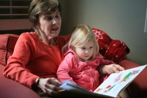 Grandma and G