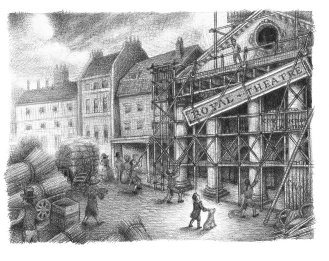 Illustration from The Marvels. Illustration copyright 2015 Brian Selznick. Used with permission from Scholastic Press.