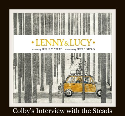 Their latest book Lenny and Lucy is the topic of discussion at Mr. Sharp's blog today! Click the image above to go read it!