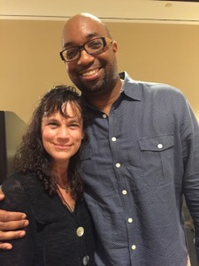 Leanne with Kwame Alexander