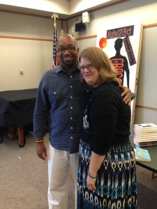 Eti with Kwame Alexander