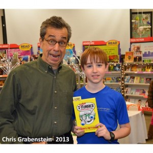 Chris Grabenstein book give away