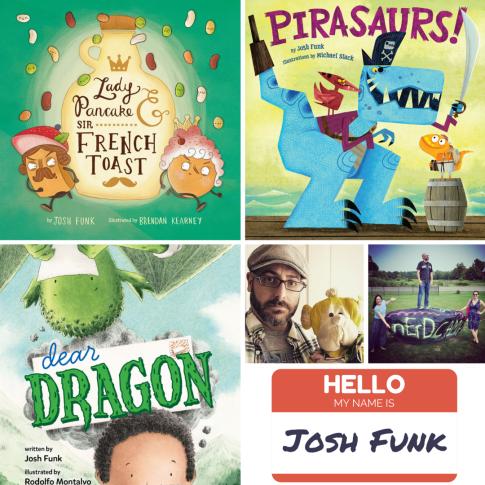Josh Funk's Books for Nerdy Book Club