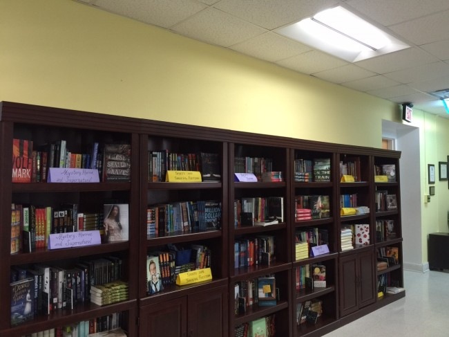 From zero to hundreds, a school library starts to take shape!