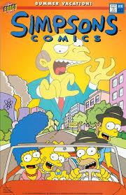 simpson's comics