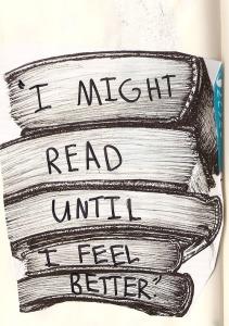 i might read until I feel better