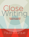 Close writing cover