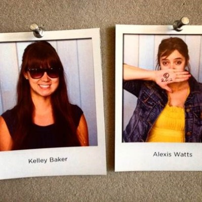 My first official role in publishing + staff wall picture fame, Chronicle Books, 2012