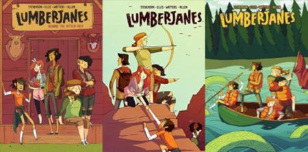 Image result for lumberjanes series